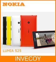 Lumia 525 Unlocked Original Nokia Lumia 525 mobile phone Windows dual core 4'' IPS 8GB 5.0MP one year warranty