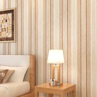 S fashion nostalgic vintage pure paper, wallpaper american retro finishing vertical stripe personality wallpaper