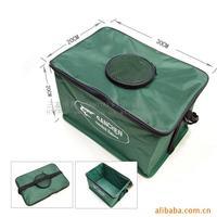 Folding oxford fabric canvas fishing bucket  folding bucket water tank fish bucket fish bag fish tank 30cm