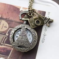 Free shipping wholesale dropship 2013 wedding gift hot sale pocket watch ladies fashion