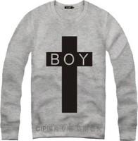 2014 New Brand  BOY LONDON Men Women Loose Long Sleeve Hoody And Sweatshirt Cotton Hip Hop Sports Plus Size Outerwea