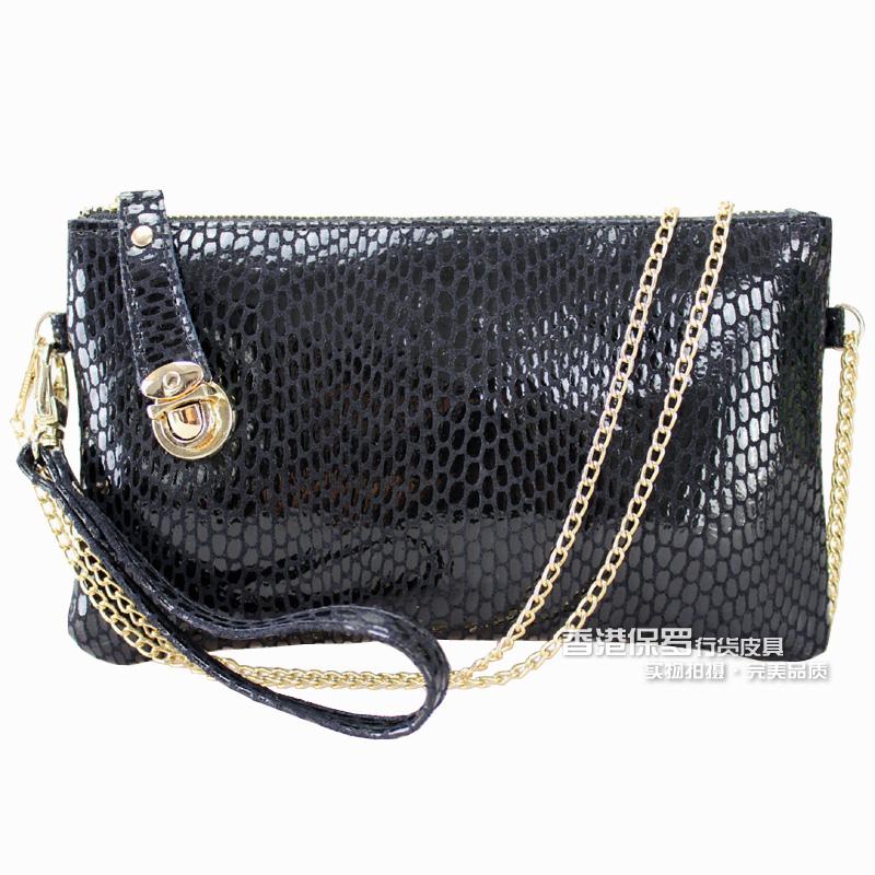 2015 women's handbag female women's day clutch genuine leather clutch coin purse women's messenger bag(China (Mainland))