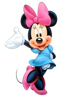 Free shipping ,  Wall Stickers,  minnie  cartoon sticker