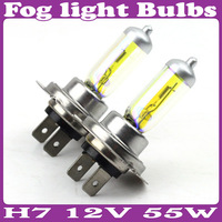 H7 12V 55W Golden Yellow Fog light Bulbs 3000K Halogen Xenon 8 Pcs/Lot