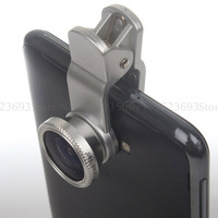 Top Quality 3 in1 Fish Eye+Wide Angle+Macro Lens For Phone5s 4 iPad Samsung Galaxy S5 S4 S3 Note2 Note3 Universal Lens Hot 0707