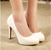 Fashion 2014 ultra high heels thin women's heels single shoes platform sexy formal shoes
