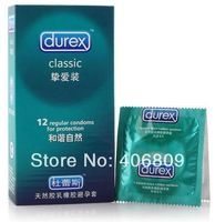 12pcs/pack Durex Condom Extra fine and safe Greater pleasure with English specification 12 kinds for you to choose free shipping