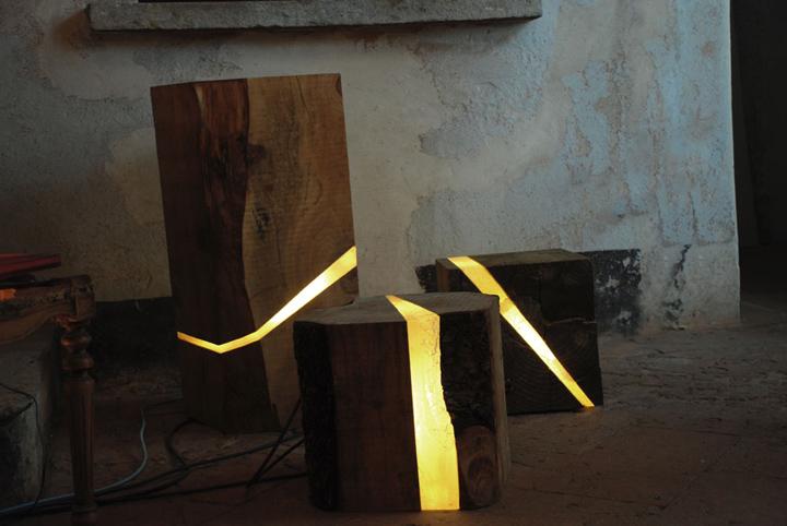 Slaapkamer Lampen Nachtkastje : slaapkamer houten nachtkastje lamp ...