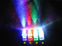 4000pcs/lot (1000 packs) LED Finger ring laser Lights 4colors (4pcs in a opp bag) DHL free shipping, christmas light