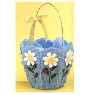 Cross Stitch Pattern Needlework cross stitch embroideryFlower basket |The storage boxembroidery thread silk thread