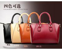 new 2014 genuine leather bag fashion brand handbag women handbag shoulder bag vintage messenger bag free shipping