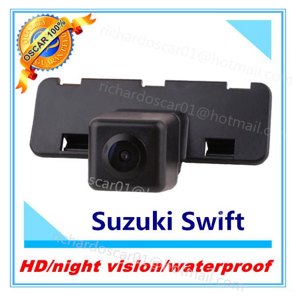 waterproof night vision wide angle 170 suzuki swift camera car/auto/vehicle backup rear view/rearview reverse camer/kamera(China (Mainland))