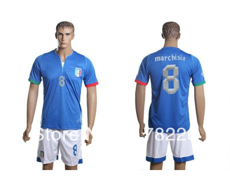 Hot sale 2013-14 Italy football jersey balotelli 9 training set free shipping with short sleeves(China (Mainland))