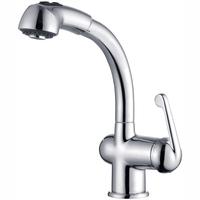 Retail - Luxury Brass Kitchen Tap, Chrome Finish Sink Tap, Deck Mounted Tap, Free Shipping X8238K1