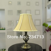 2014 hot sale antique plating metal table lamp for bedroom living room reading E27 Lamp Holder Desk lamp