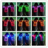 LED shoelaces, wild fluorescent shoelaces