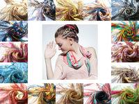 [Silk Chiffon Scarf]85cm*85m Square Scarves/100% Natural Mulberry Silk/Spring 2014 New/Fashion Tiny Chiffon Scarf
