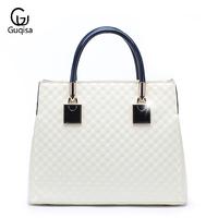 2014 spring and summer women's trend handbag fashion portable women's japanned leather bag vintage one shoulder bag