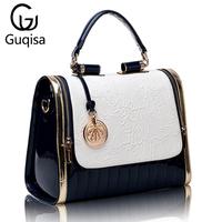 Bags 2014 women's bag fashion handbag fashion vintage shoulder bag japanned leather women's handbag