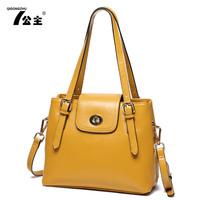 2014 women's handbag fashion all-match preppy style handbag shoulder bag messenger bag