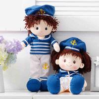 2014 NEW  Plush toys. Doll model. Lovely navy Rag Doll. Doll. A birthday present. free shipping