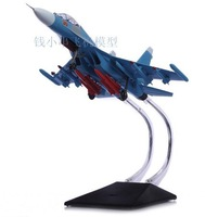 Airplane Model SU-30 Fighter Military Plane Model Sky Blue Airplane Toys For Children Educational Toys For Kids Free Shipping