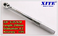 Precision torque wrench 3/8 5-25n.m