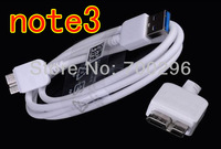 Free shipping 50pcs/lot Cable USB3.0 Micro USB 3.0 Sync Data Charger Cable For Samsung Galaxy Note 3 N9000 N9005