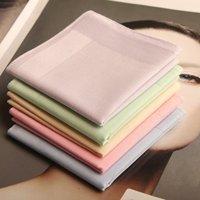 Elegant Handkerchief 40S women's handkerchief pure cotton plaid hanky free shipping 5pcs/lot #1665