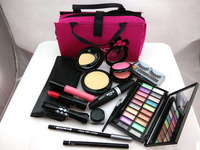 Fast shipping Professional Makeup Travel Case Kit - Make Up Cosmetics Gift Set 13Pcs
