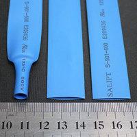 Phi . 13mm blue heat shrinkable tube heat shrink tubing heat shrinkable tube eco-friendly rohs