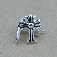 Wholesale Genuine 100% Real Pure 925 Sterling Silver Men earrings.dragon eye Men jewelry .free shipping fine jewelry HYE3