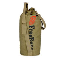 Outdoor mountaineering bag bucket bag shiralee tactical backpack canvas backpack