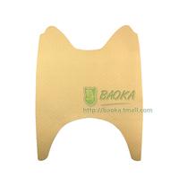 Electric bicycle foot skin yellow mat women's car pedal