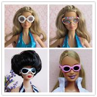 Free shipping Best doll Furniture Accessories Fashion Sunglasses For Barbie Dolls Toy hot sale BBWWPJ0027