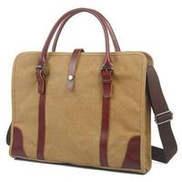 2014 New Vintage Casual Style Canvas Messenger Bag For Men And Women Shoulder Bag Briefcase 15 Inch Laptop Bag Handbag