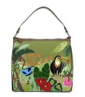 wholesale 2014 animal personalized canvas handbag  free shipping