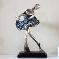 Ballet girl decoration gift birthday gift resin girl crafts
