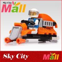 Classic Enlighten Baby Toys Mars Truck Cruiser Building Block Sets Learning & Education For Children 3D Assemblage Kids Gift DIY