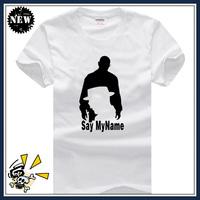 USA AMC Breaking Bad Walter White T Shirt Say My Name T-Shirt
