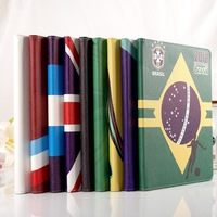 New Arrivals 2014 Brazil World Cup Leather Cover Case For Ipad Air For Ipad 5 Ipad Cases ,Free Shipping!