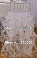 free shipping charming desgin WHITE chair cover for chiavari chairs