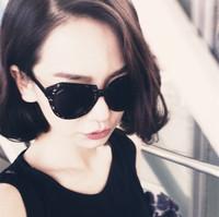 Free Shipping! New 2014 Fashion woman Sun glasses Women eye glasses man vintage men's retro sunglasses