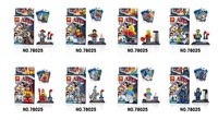 NEW Lele assembling building blocks toys 78025 big movie kids DIY dolls for children gifts 8pcs/lot free ship