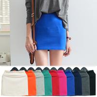 2015 New fashion Women's summer slim hip step skirt a-lin short  skirts  S-XL 8040# Free shipping