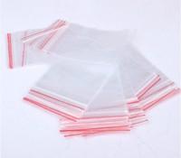 Free Shipping 100Pcs Self Sealing Zip Lock Plastic Transparent Bags 100*70mm/packaging bags material