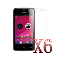 6x Matte LCD Screen Protector Film For Philips W536