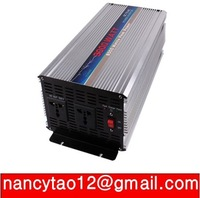 3000W  24V to 220V  50HZ UPS Power Inverter with 10A charger 2 years quality warranty pure sine wave inverter free shipping