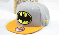 5 pcs cotton embroidery adults man hat, batman hat, hip hop cap, Baseball Caps MH18, free shipping