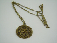 Pirates Of The Caribbean Aztec Gold Pendant Necklace